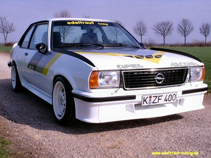 Opel Kadett C Tuning Opel Kadett C Tuning Warnemnde Woche